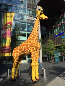 Near the Legos store at Potsdamer Platz