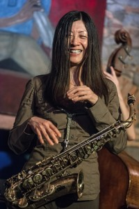 Yoko Suzuki at the jam session