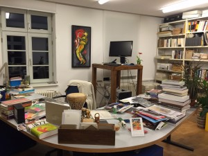 And this is my shot of an office at the Jazzinstitut ..